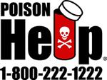 Poison Help: 1-800-222-1222